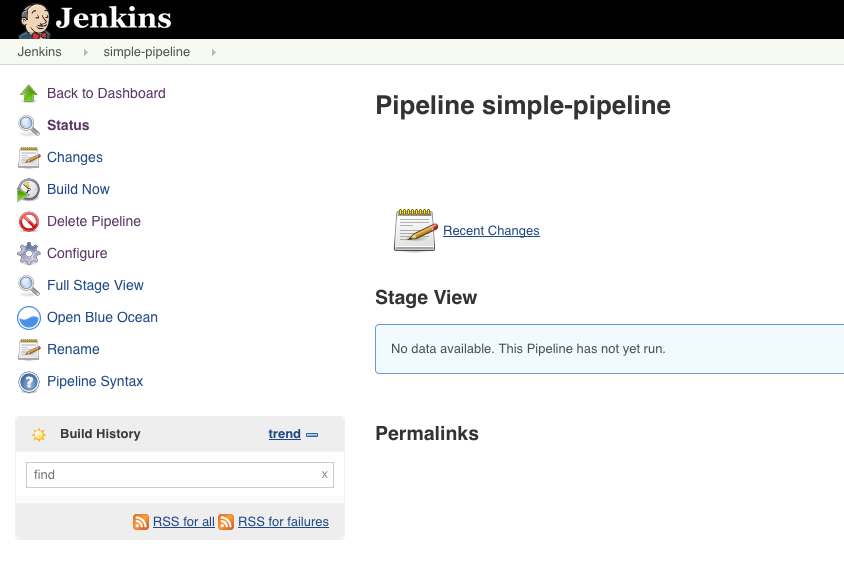 Jenkins Pipeline - Hello World
